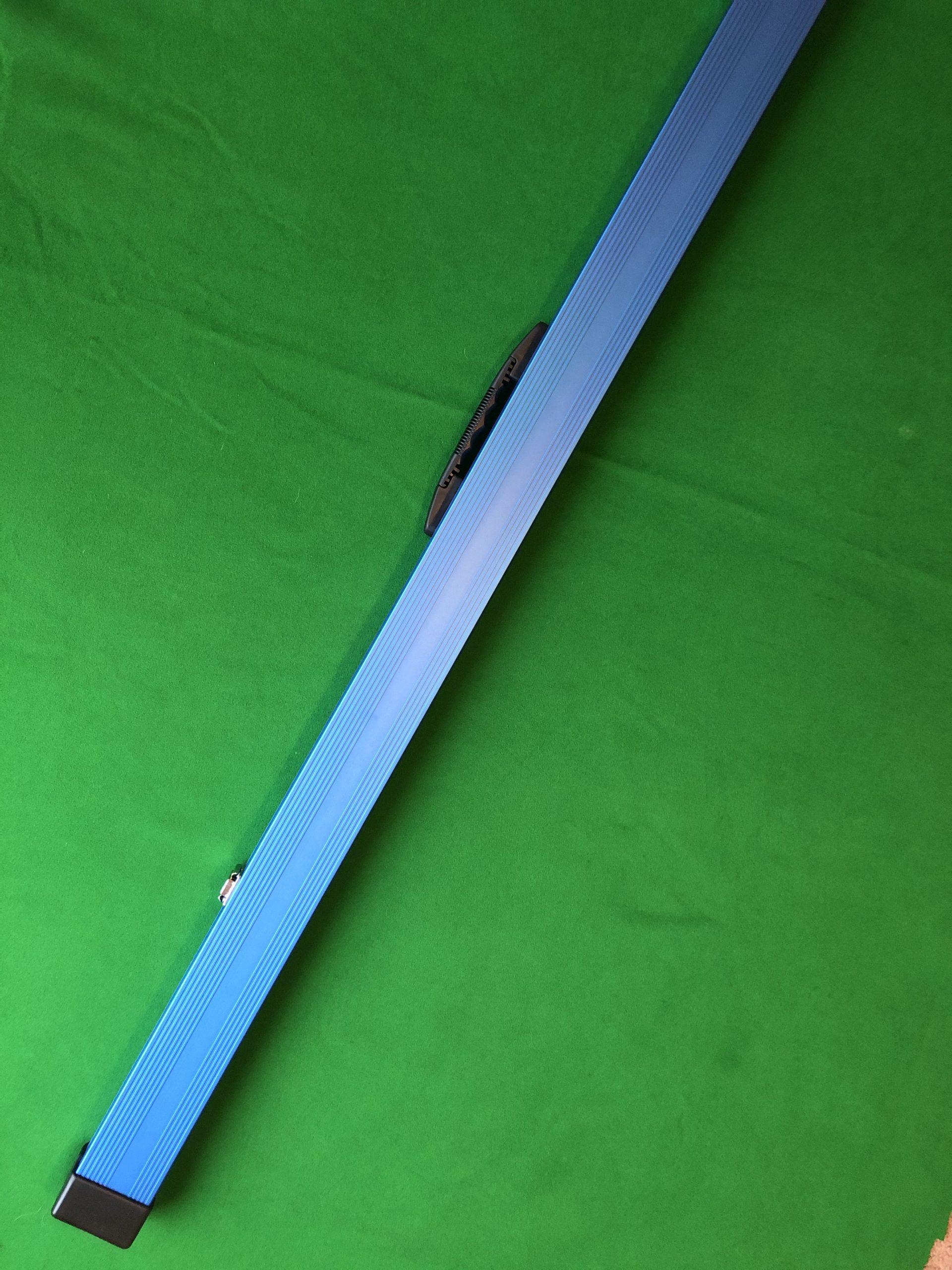 1 Piece Blue Aluminium Cue Case