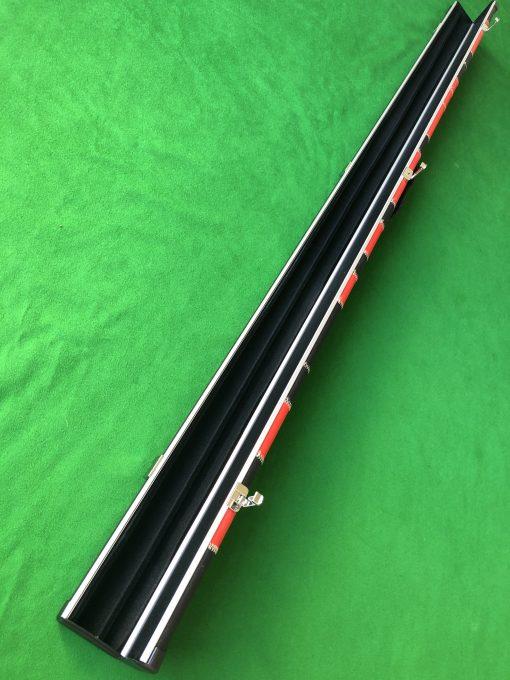 1 Piece Red - Black Aluminium Patchwork 2 Channel Case 1