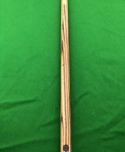 58.5 1 Piece Zebrawood Snooker Cue CBA26 2