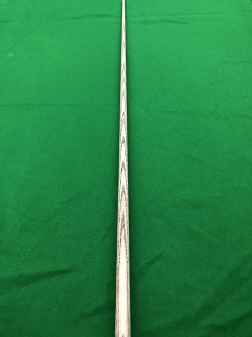 58.5 1 Piece Zebrawood Snooker Cue CBA26 4