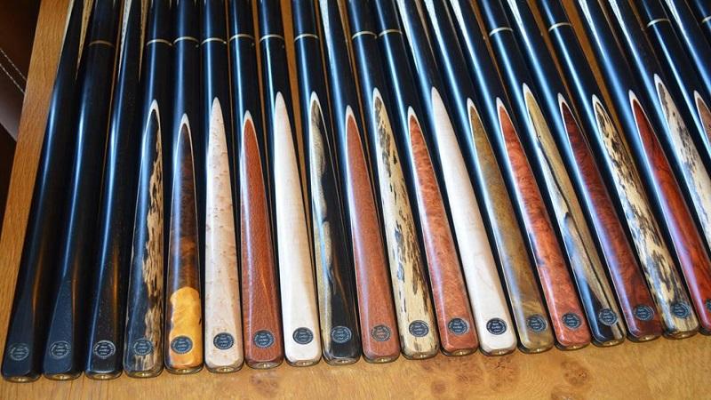 Handmade Snooker Cues 11