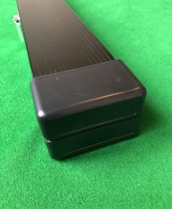 Three Quarter Black Aluminium Cue Case 2