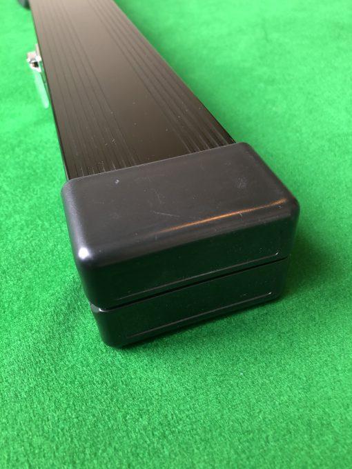 Three Quarter Black Aluminium Cue Case 2
