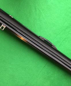 Three Quarter Black Aluminium Cue Case 3