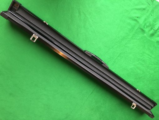 Three Quarter Black Aluminium Cue Case 3