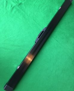 Three Quarter Black Aluminium Cue Case 4