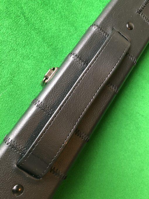 Three Quarter Black Patchwork Cue Case 1