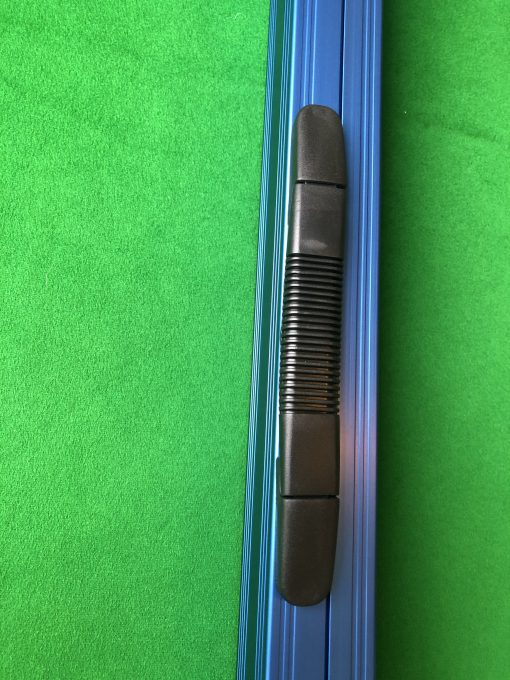 Three Quarter Blue Aluminium Cue Case 1
