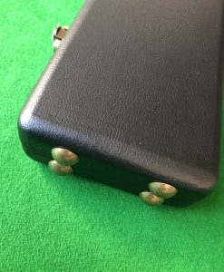 Three Quarter High Quality Cue Case - Extra Wide WD2 Red 1
