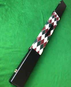 Three Quarter High Quality Cue Case - Extra Wide WD2 Red 2