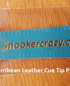 Carribean Leather Cue Tip Protector